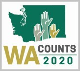 WA Counts 2020 Census logo